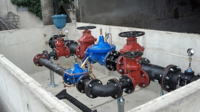 Pressure Reducing & Metering Vault